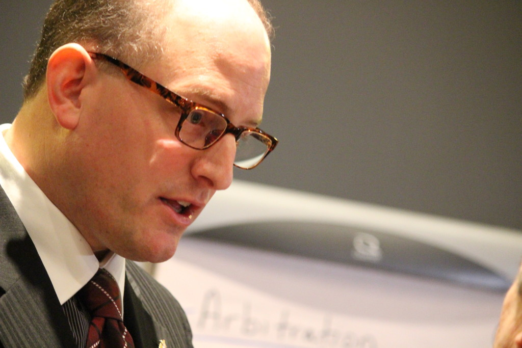 BlackburnNews.com file photo of Windsor Mayor Drew Dilkens, January 15, 2014. (Photo by Jason Viau)