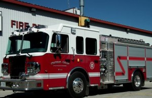 fire truck from Strathroy Caradoc