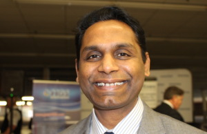 Rakesh Naidu from the Windsor Essex Economic Development Corporation. (Photo by Adelle Loiselle.)