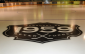 A picture of the ice surface at Listowel Memorial Arena, which features a logo that commemorates the 1959 Listowel Arena disaster. (Courtesy of the Listowel Cyclones)