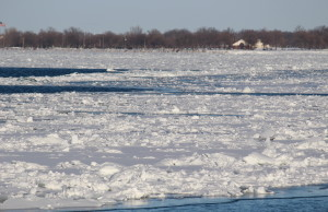 BlackburnNews.com file photo of the Detroit River on February 12, 2015. (Photo by Jason Viau)