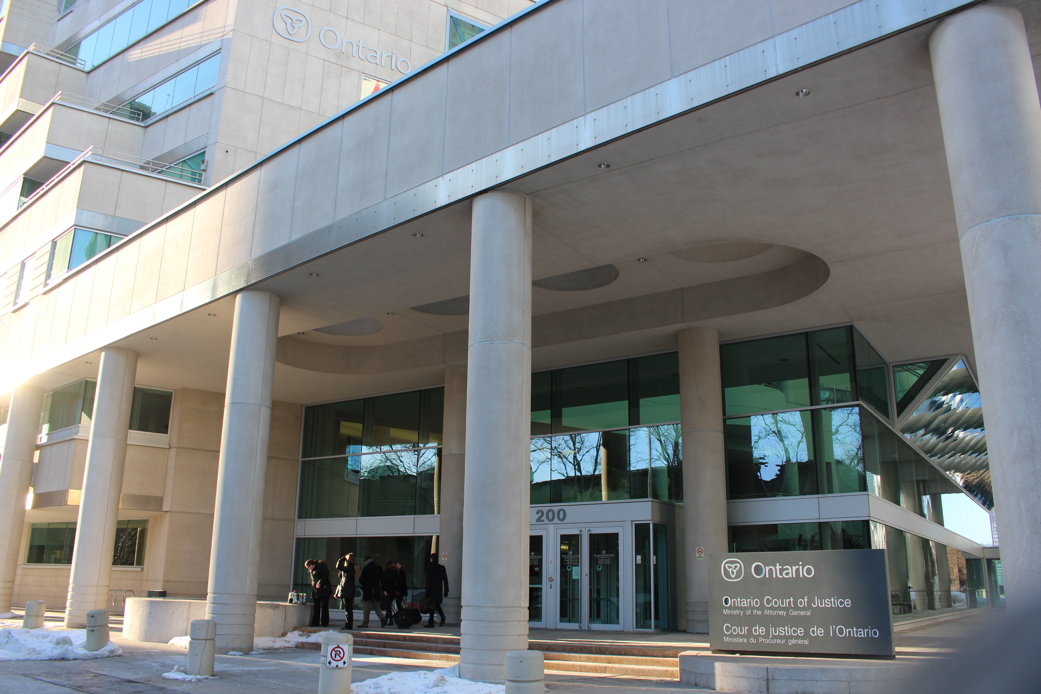 BlackburnNews.com file photo of the Ontario Court of Justice. (Photo by Jason Viau)