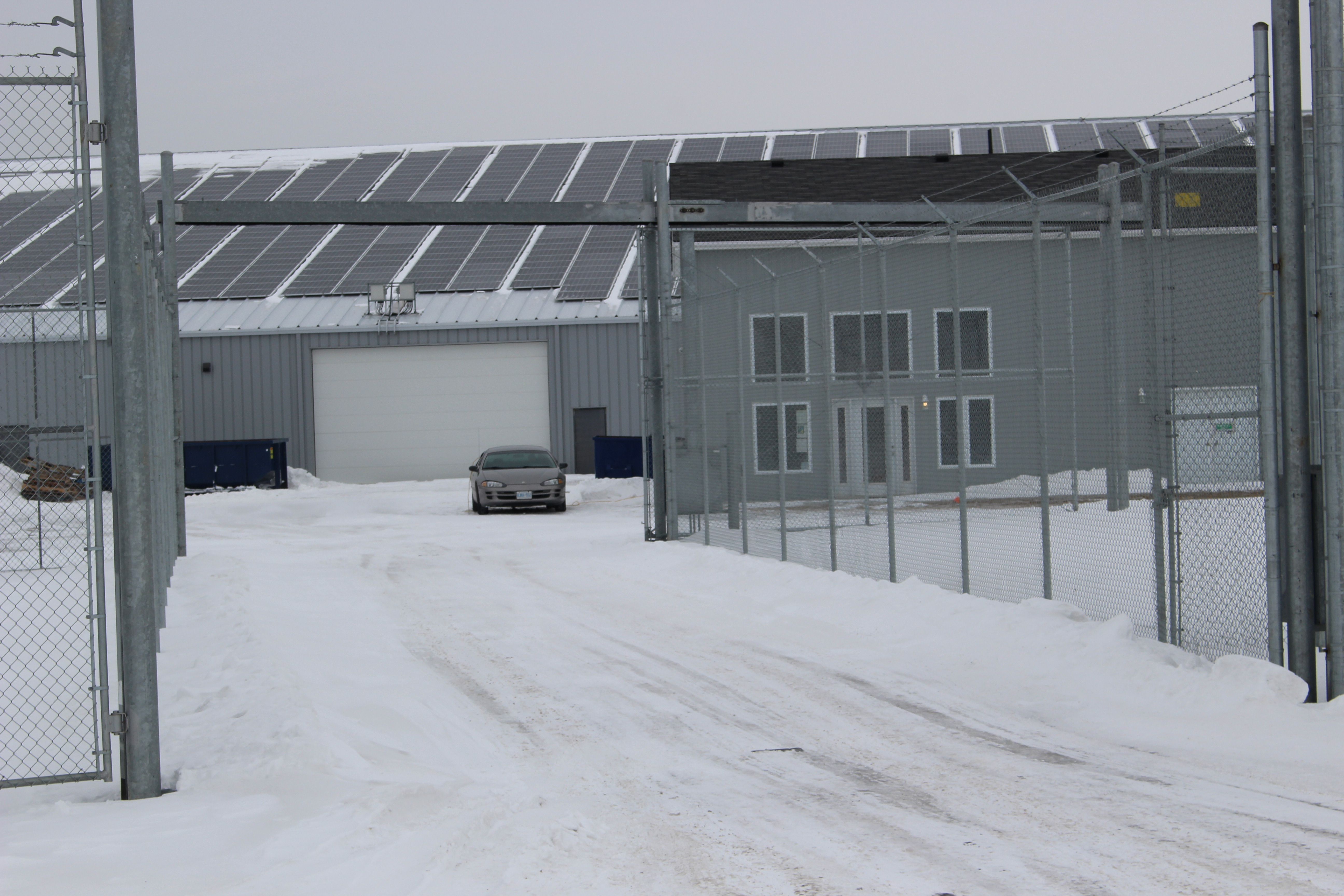 BlackburnNews.com file photo of CEN Biotech in Lakeshore on Manning Rd. and North Rear Rd. on February 24, 2015. (Photo by Jason Viau)