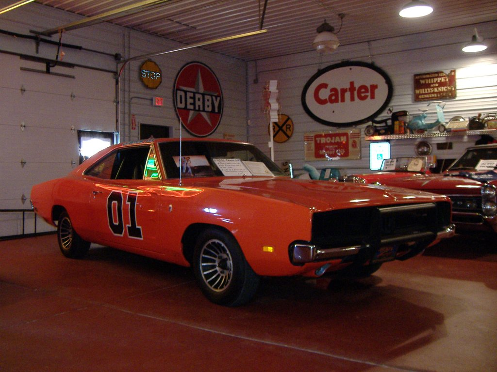 The General Lee popularized by The Dukes of Hazzard TV show