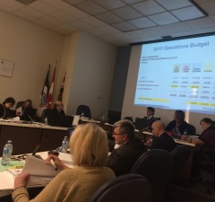 Amherstburg Council meets to debate the 2015 budget on March 31, 2015. (Photo by Ricardo Veneza)