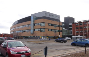 The Chatham-Kent Health Alliance's Chatham campus. (Photo by Jake Kislinsky)
