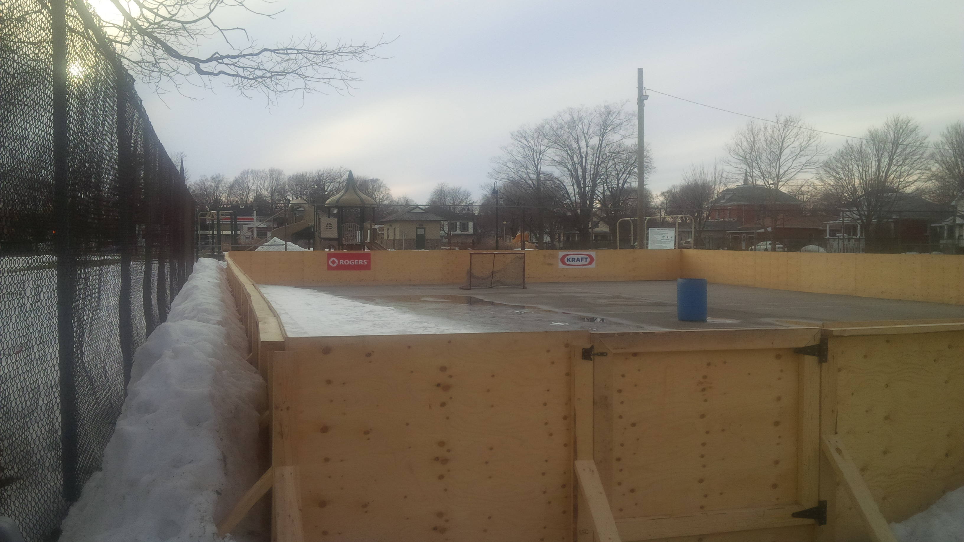 Blackburn News file photo of an outdoor skating rink in Goderich. (Photo by Bob Montgomery)