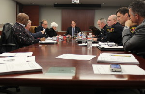 The Windsor Police Services board meeting, March 26, 2015. (Photo by Jason Viau)
