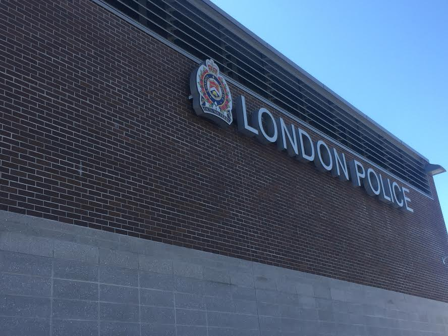 London Police Service Headquarters On Dundas St.
