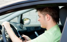 Distracted driving file photo courtesy of © Can Stock Photo Inc. / 4774344sean