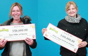 Instant Crossword winners from Essex County. (Photos provided by OLG)