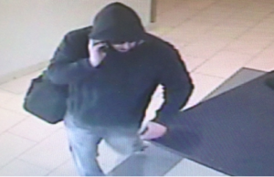 LaSalle police are looking for this man in connection with multiple credit card thefts. (Photo courtesy of the LaSalle Police Service via Facebook)