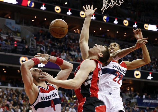 Raptors swept by Wizards in first round