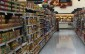 Food Store shelves - groceries