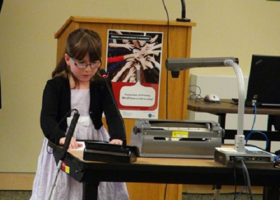 Hanover Girl Places 2nd in National Poetry Contest