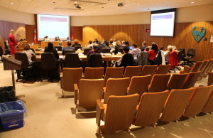 The Greater Essex County District School Board holds a meeting, April 21, 2015. (Photo by Jason Viau)