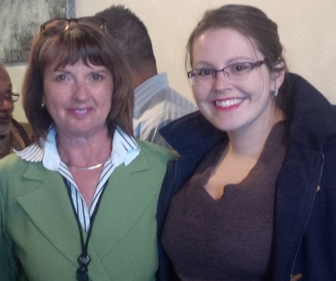 Goderich Physician Recruitment Lead Gwen Devereaux with Family Practitioner Tamra Steinmann