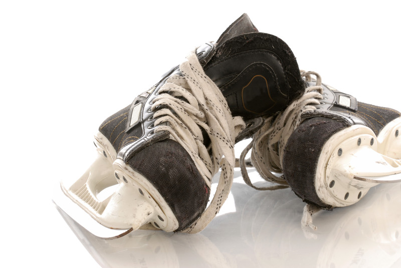 Hockey skate. Photo courtesy of © Can Stock Photo Inc. / Colecanstock