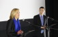 PC leadership candidates Christine Elliott and Patrick Brown April 11, 2015. (Photo by Adelle Loiselle)