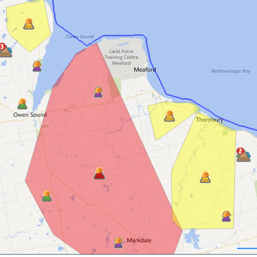 Hydro Outage