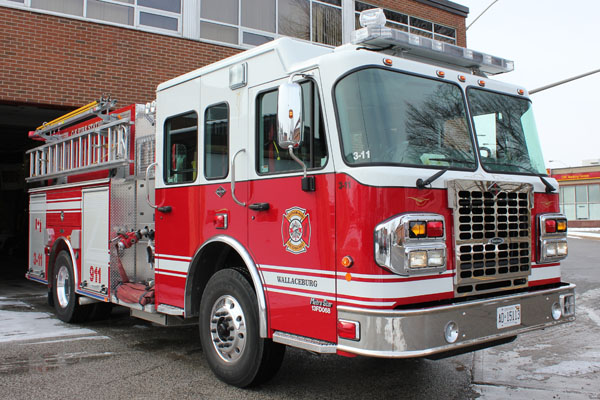 Wallaceburg Fire Truck. (Photo courtesy of CKbranding.com)
