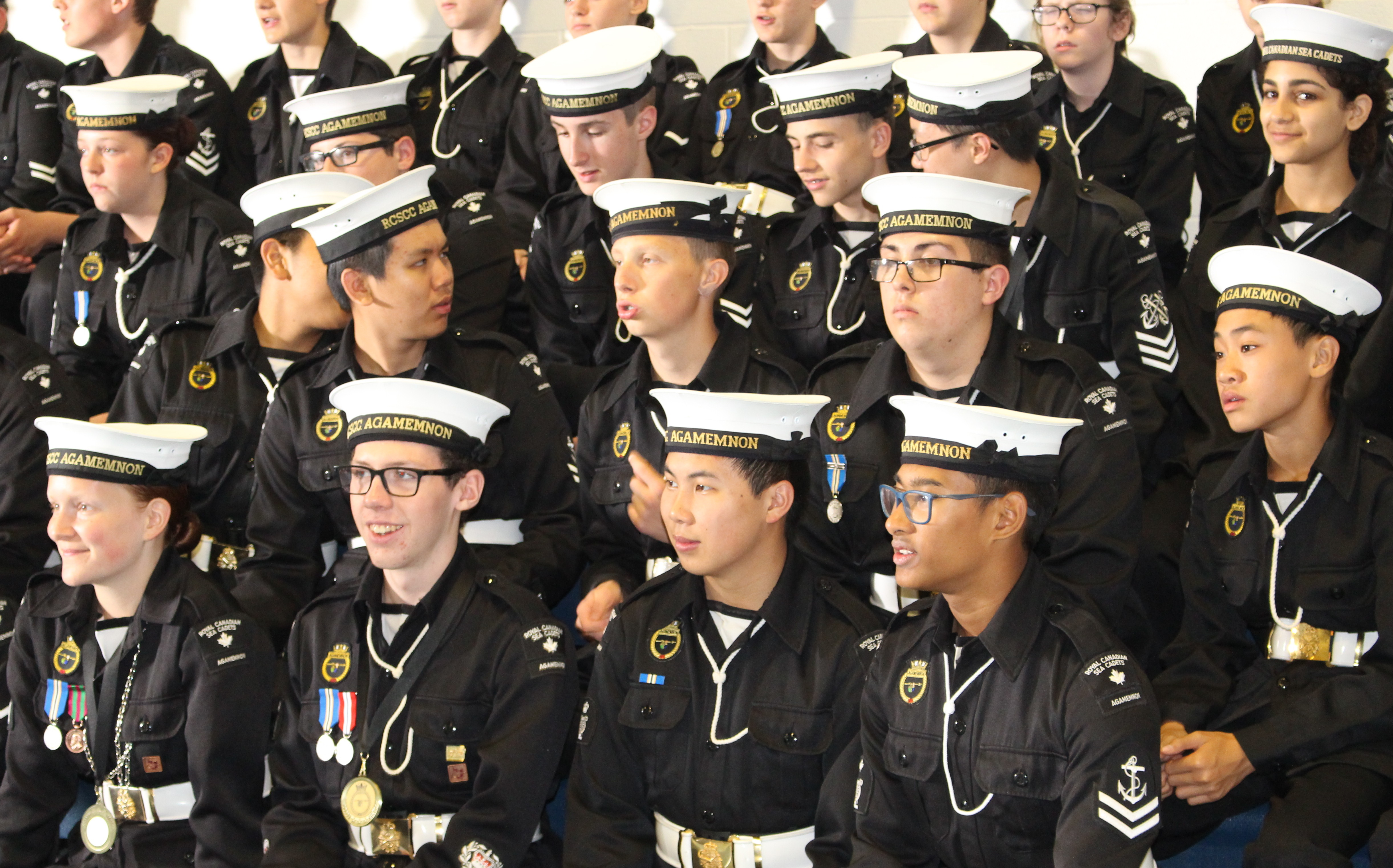 Royal Canadian Sea Cadet Corps 95th Annual Review at HMCS Hunter in Windsor May 30, 2015. (Photo by Adelle Loiselle)