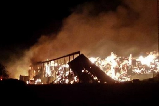 Chatsworth Barn Fire Damage Adds up to $500,000