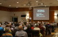 Crowd at wind turbine information session update, Camlachie Community Centre May 26, 2015. (BlackburnNews.com Photo by Briana Carnegie)