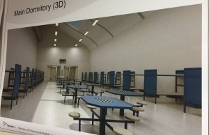 A plan for what the inside of the new London Intermittent Inmate Facility will look like.