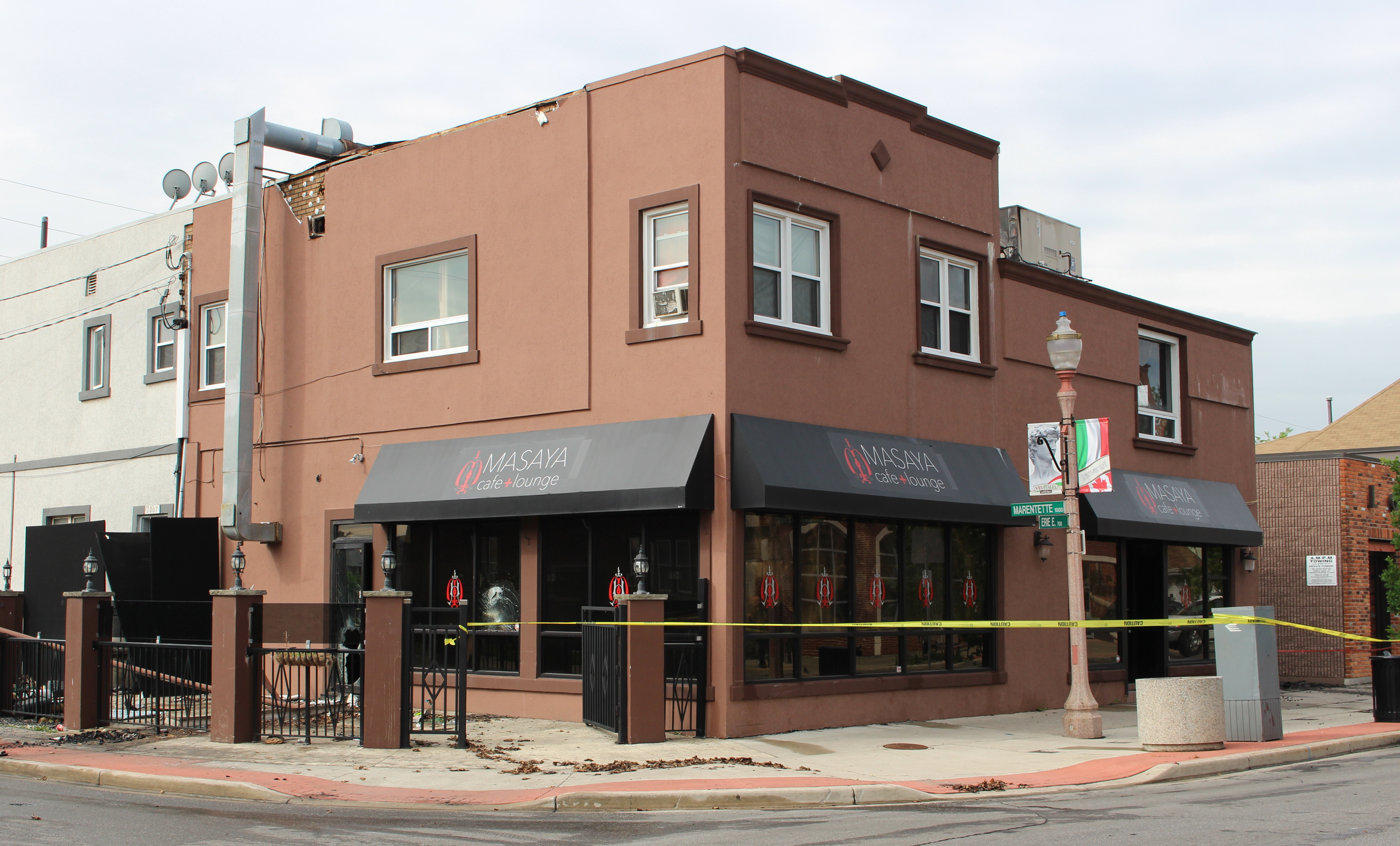 Cafe Fire Investigation Continues (GALLERY)