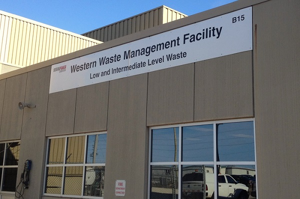 Ontario Power Generation's Western Waste Management Facility at the Bruce nuclear site. Photo by Jordan McKinnon