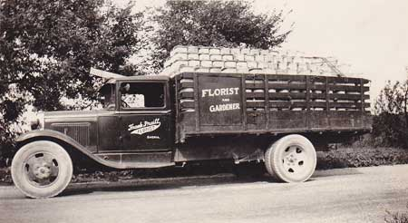 Frank Praill's Flower Truck (Photo courtesy of www.praillsgreenhouse.com)