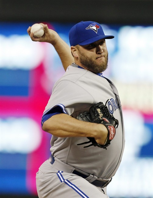 Buehrle, Blue Jays rally past Twins 6-4 on Colabello homer