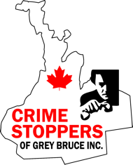 Crime Stoppers Grey Bruce logo.