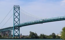 Ambassador Bridge. (Photo by Jason Viau)