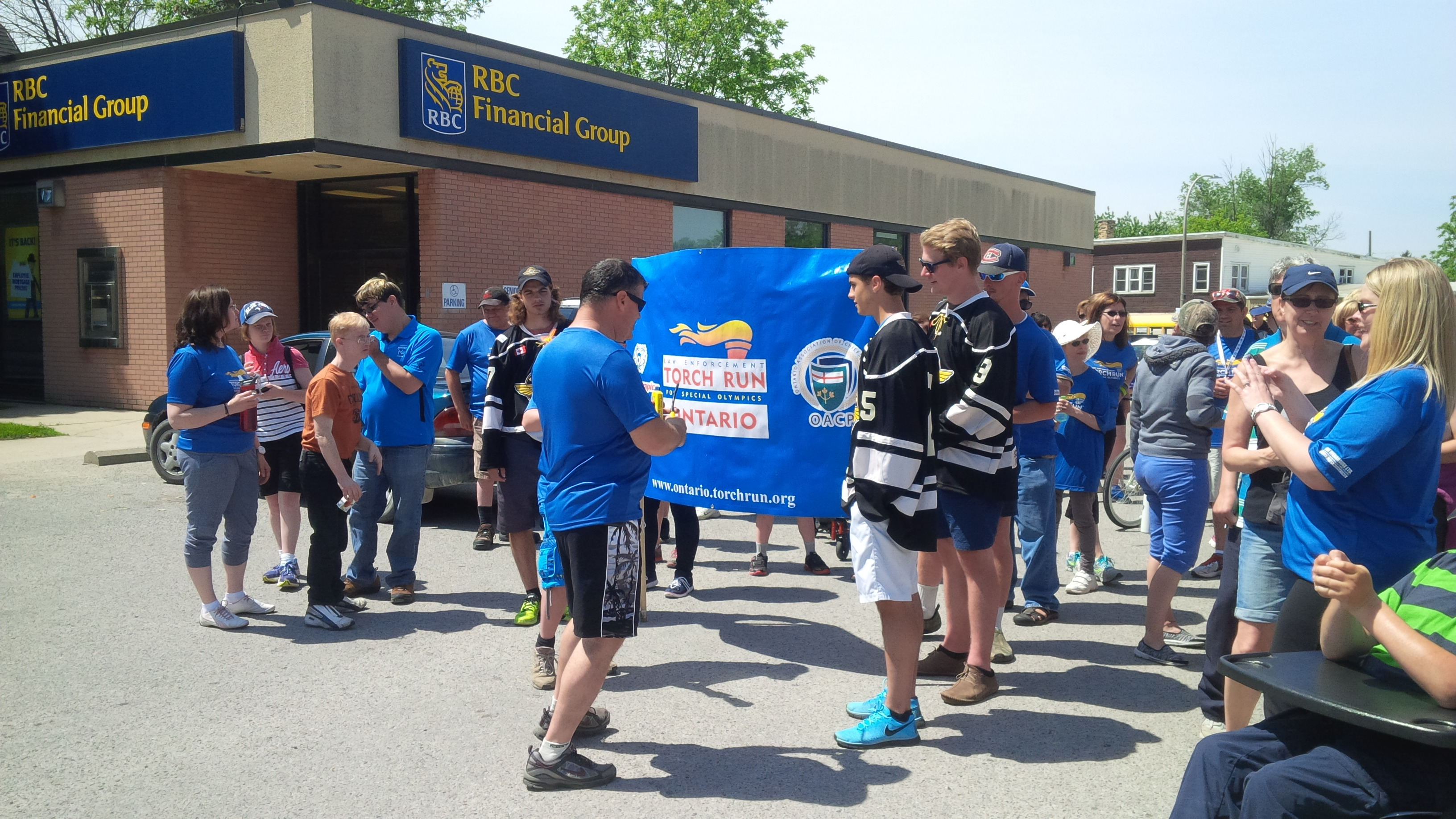 Huron County OPP Law Enforcement Torch Run for Special Olympics