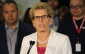 Ontario Premier Kathleen Wynne holds an auto manufacturing round table at Magna Closures in Windsor, June 19, 2015. (Photo by Mike Vlasveld)