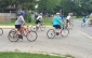 Local residents gather at the Children's Treatment Centre of Chatham-Kent for the second annual Chatham-Kent Cycling Festival, June 20, 2015. (Photo by the Blackburn Radio Summer Patrol)