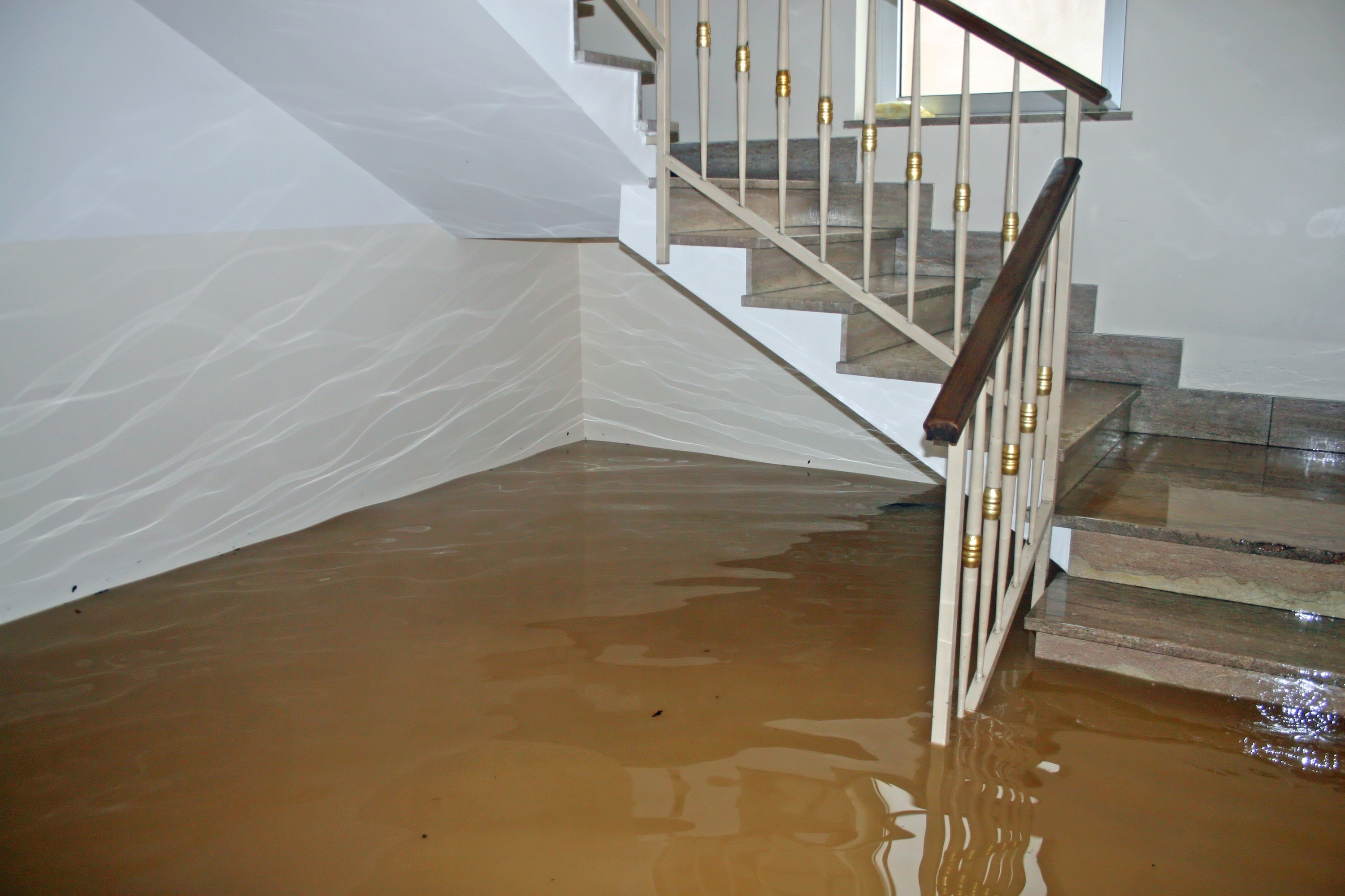 flooded home via Canstock photos
