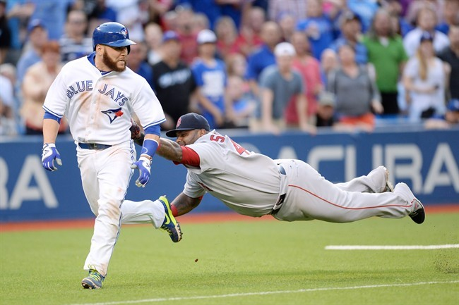 Blue Jays' bats silenced in loss to Red Sox