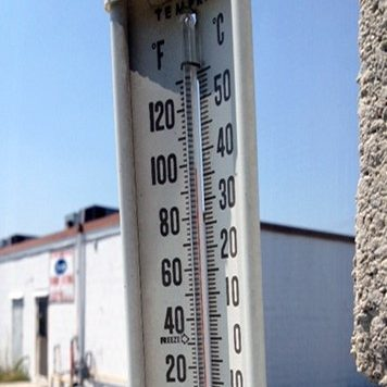 Thermometer (BlackburnNews.com file photo)