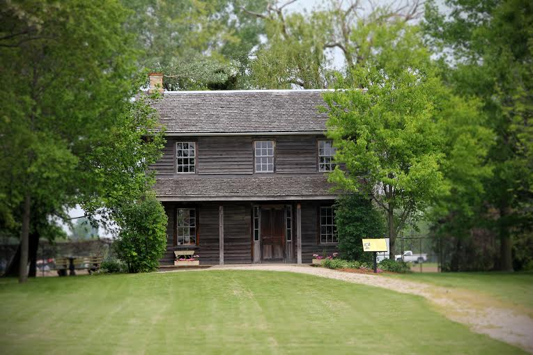 Henson House at Uncle Tom's Cabin historic site in Dresden July 2015 (Photo courtesy of Steven Cook)