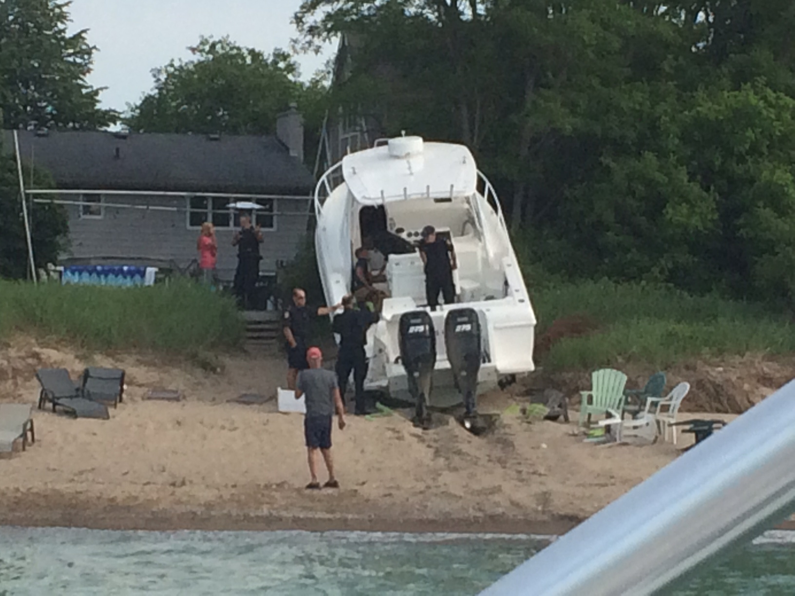 Michigan Boater Charged