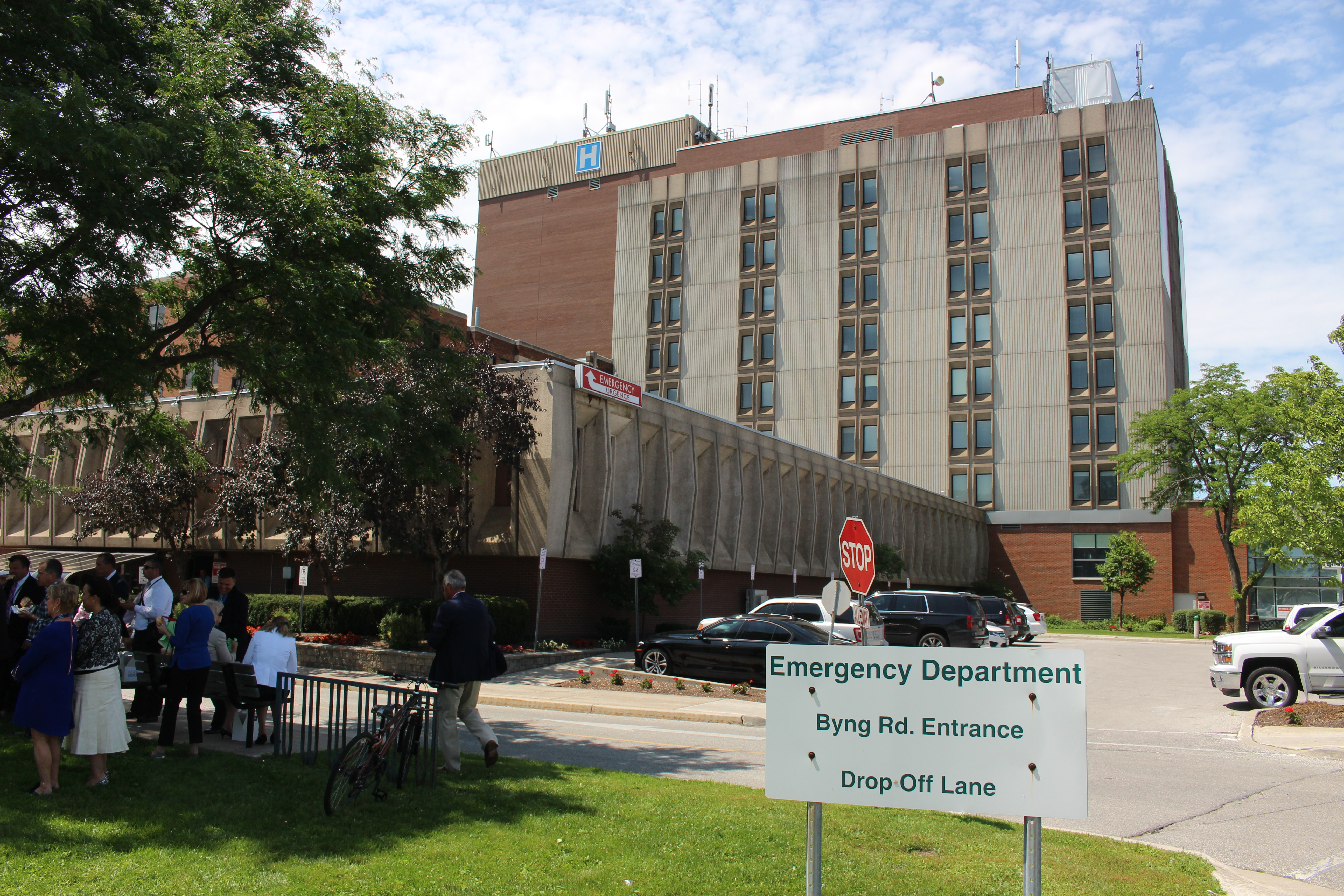 BlackburnNews.com file photo of Windsor Regional Hospital's Metropolitan Campus, July 16, 2015. (Photo by Jason Viau)