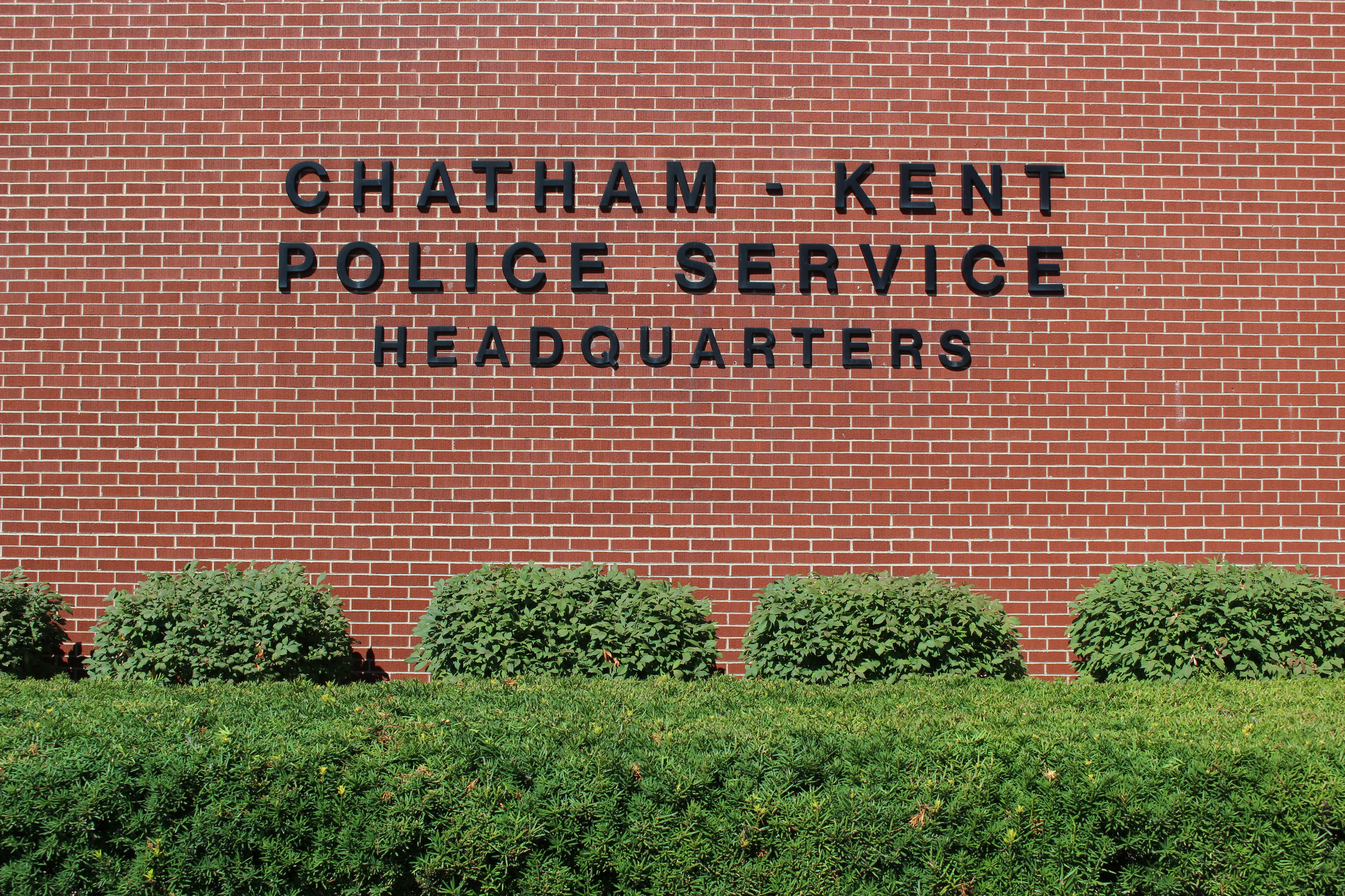 Chatham-Kent Police Service Headquarters, July 23, 2015. (Photo by Mike Vlasveld)