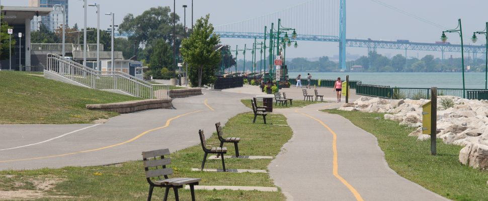 Windsor riverfront. (Photo by Jason Viau)