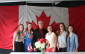 Liberal candidate for Lambton-Kent-Middlesex Ken Filson, his wife Karen and their four daughters at the party's nomination meeting in Strathroy on Tuesday, July 28, 2015. (Photo courtesy of Marie Baker)