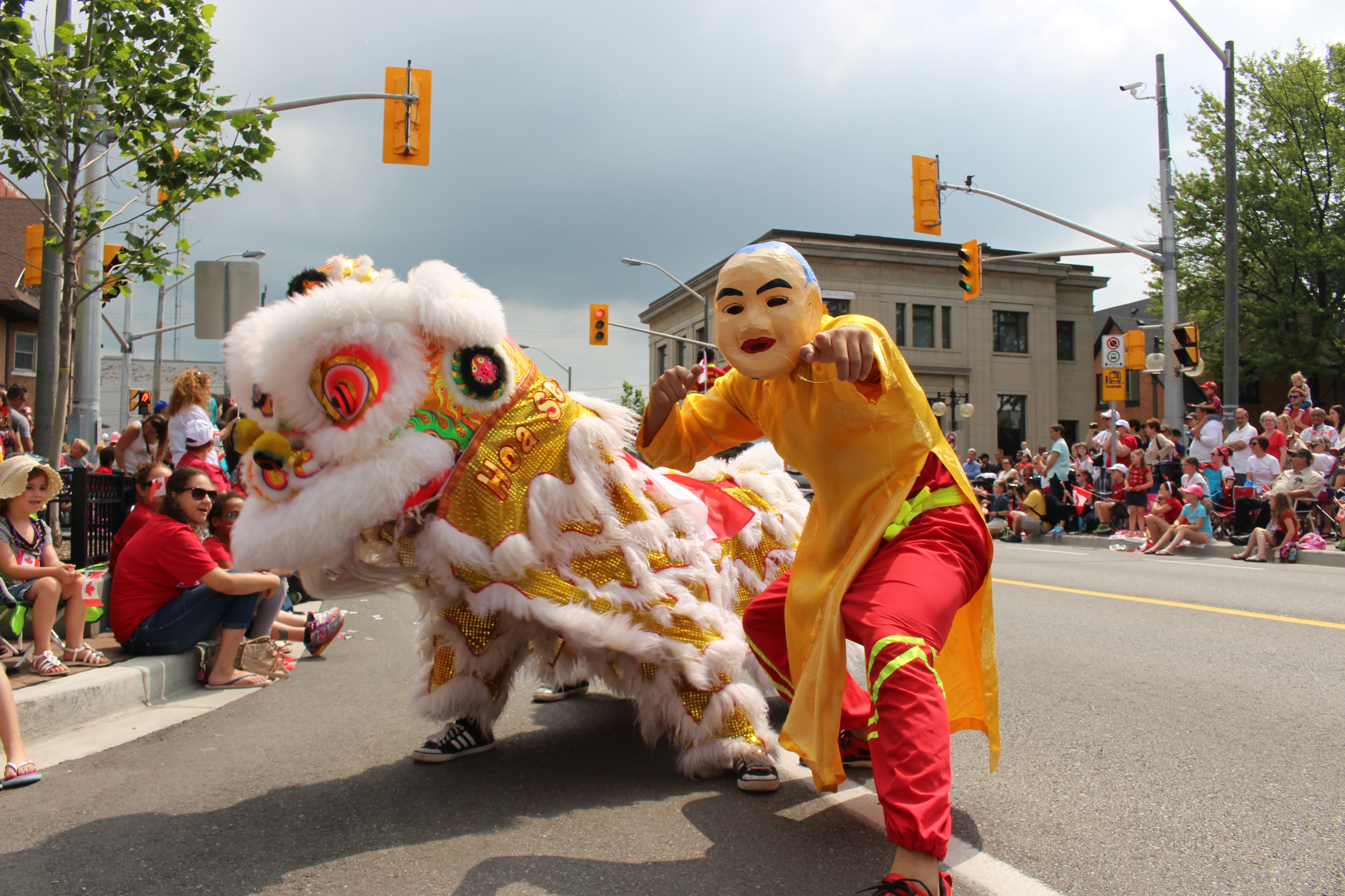 Weather Cooperates For Canada Day Parade (Gallery)