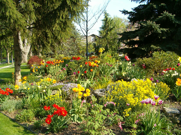 Flowerbed in Chatham. (Photo courtesy of CKbranding.com)