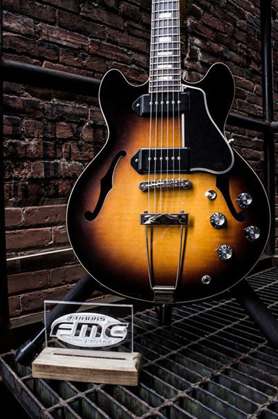 Police are looking to recover a stolen guitar pictured above.(Photo courtesy of the Chatham-Kent Police Service)